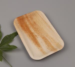 Bio-based Palm Leaf Rectangle Plate